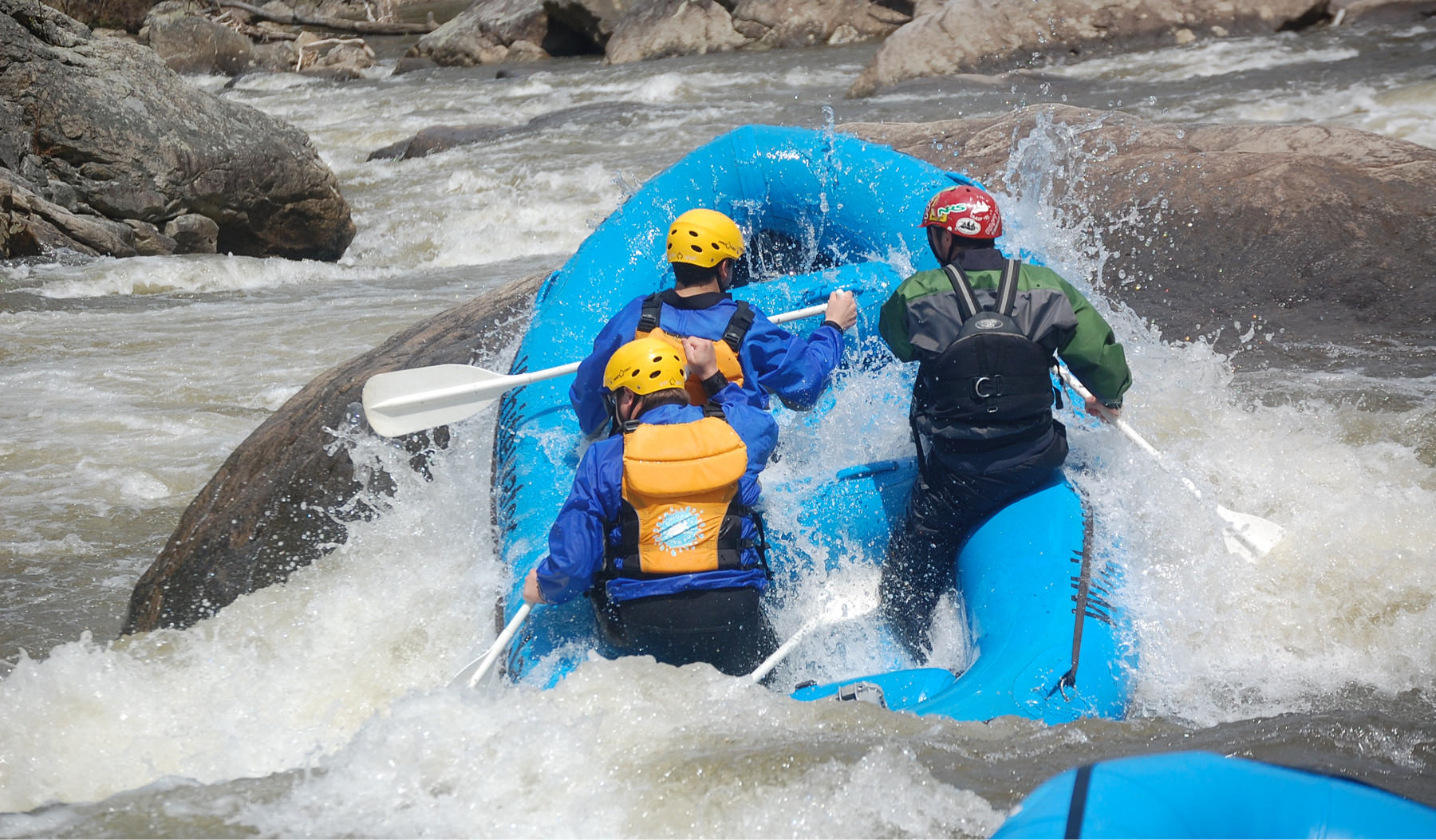 Rafting for any skill level