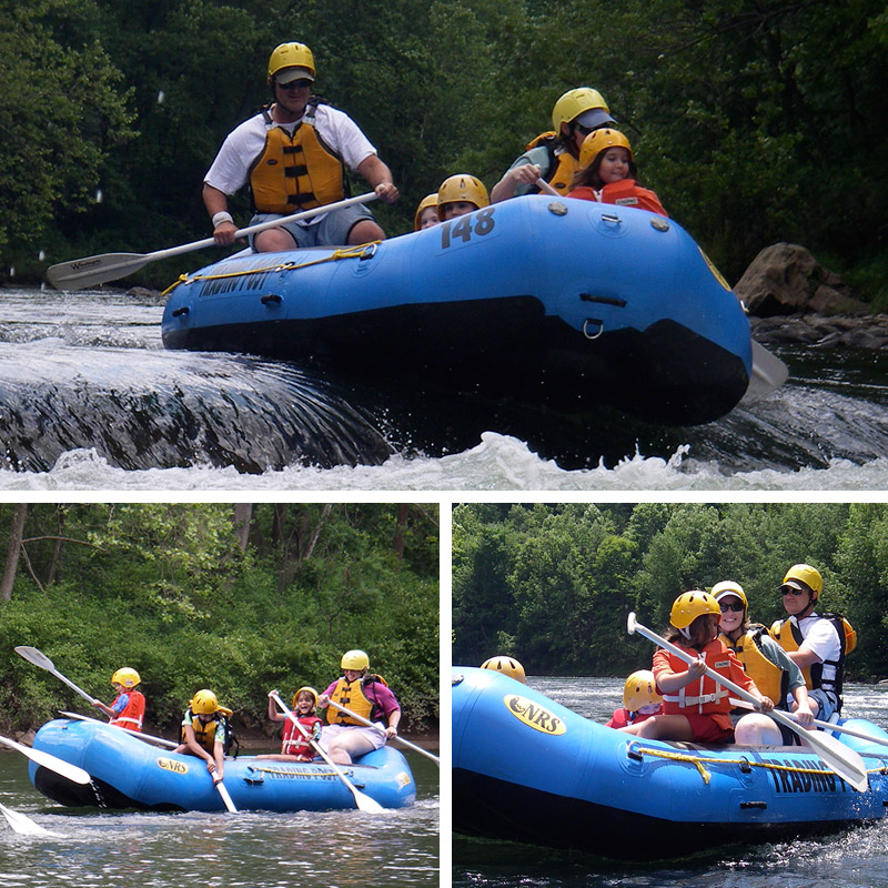 Ohiopyle Whitewater Rafting Guide Escorted Rafting