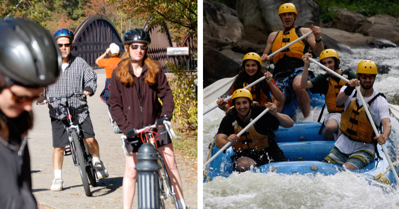 Ohiopyle Trading Post Pedal and Paddle