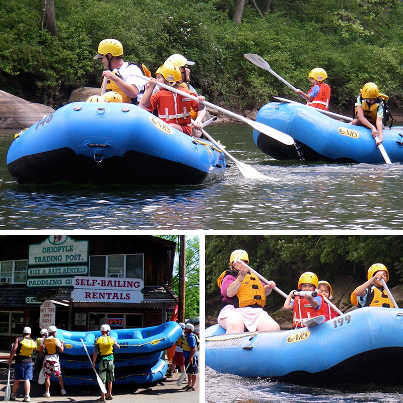 Ohiopyle Whitewater Raft Rental